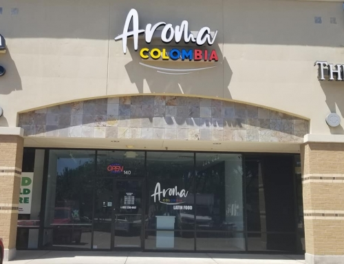 Aroma Colombia Sign